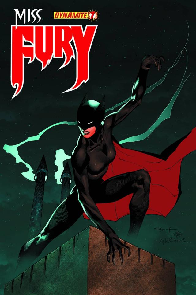 Miss Fury #7 (Syaf Cover)