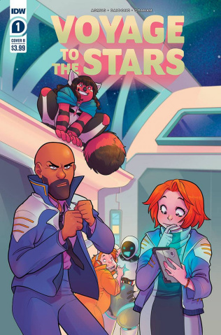 Voyage to the Stars #1 (Daidone Cover)