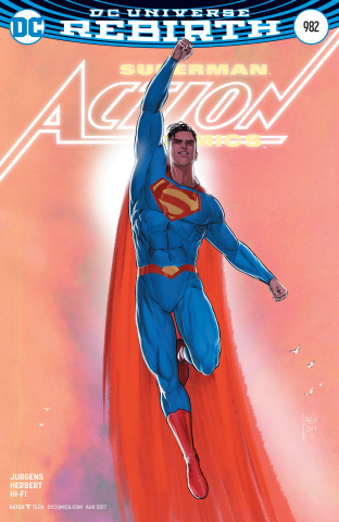 Action Comics #982 (Variant Cover)