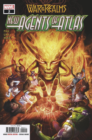 The War of the Realms: New Agents of Atlas #2