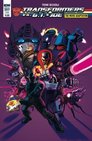 The Transformers vs. G.I. Joe Movie Adaptation (Subscription Cover)