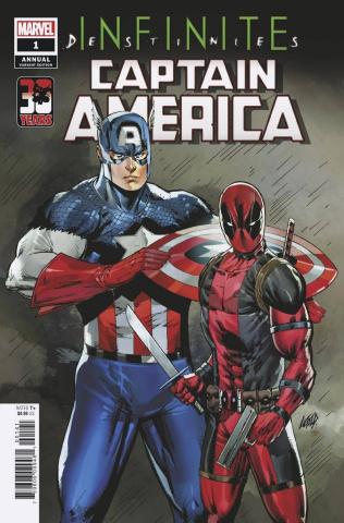 Captain America Annual #1 (Liefeld Deadpool 30the Anniversary Cover)