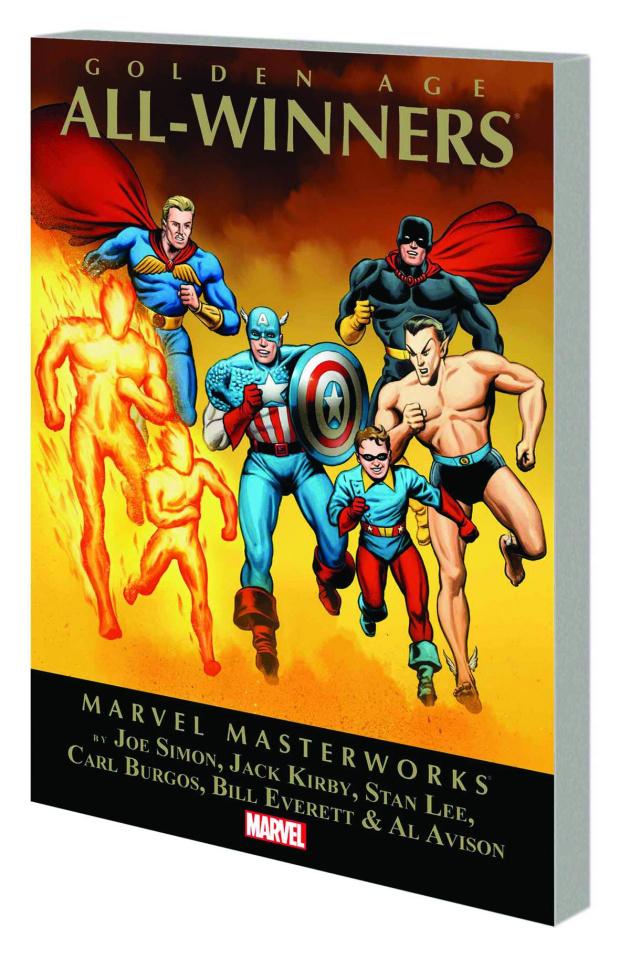 Golden Age All-Winners Vol. 1 (Marvel Masterworks)
