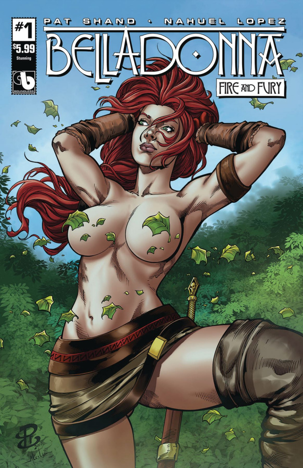 Belladonna: Fire and Fury #1 (Stunning Cover)
