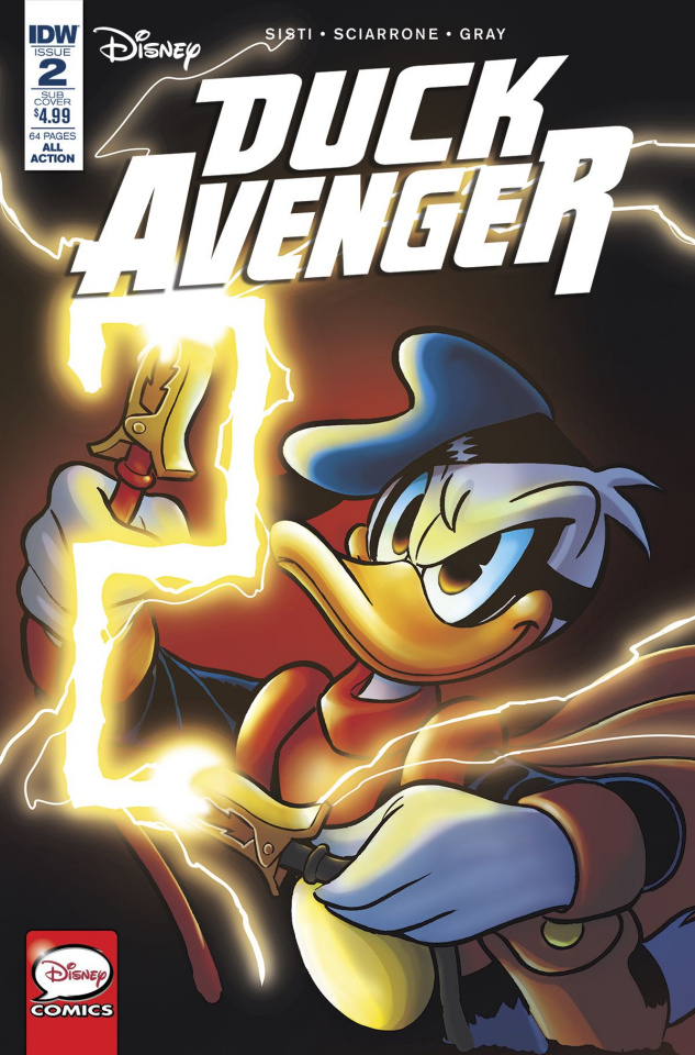 Duck Avenger #2 (Subscription Cover)