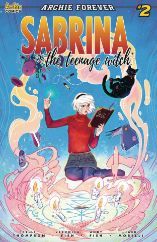Sabrina, The Teenage Witch #2 (Fish Cover)