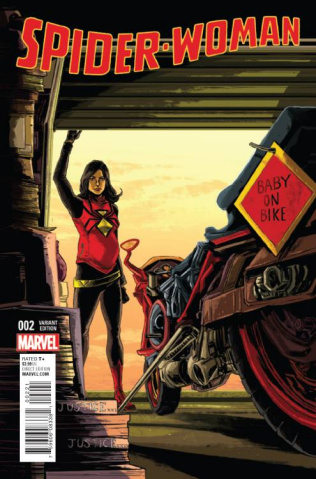 Spider-Woman #2 (Doyle Cover)