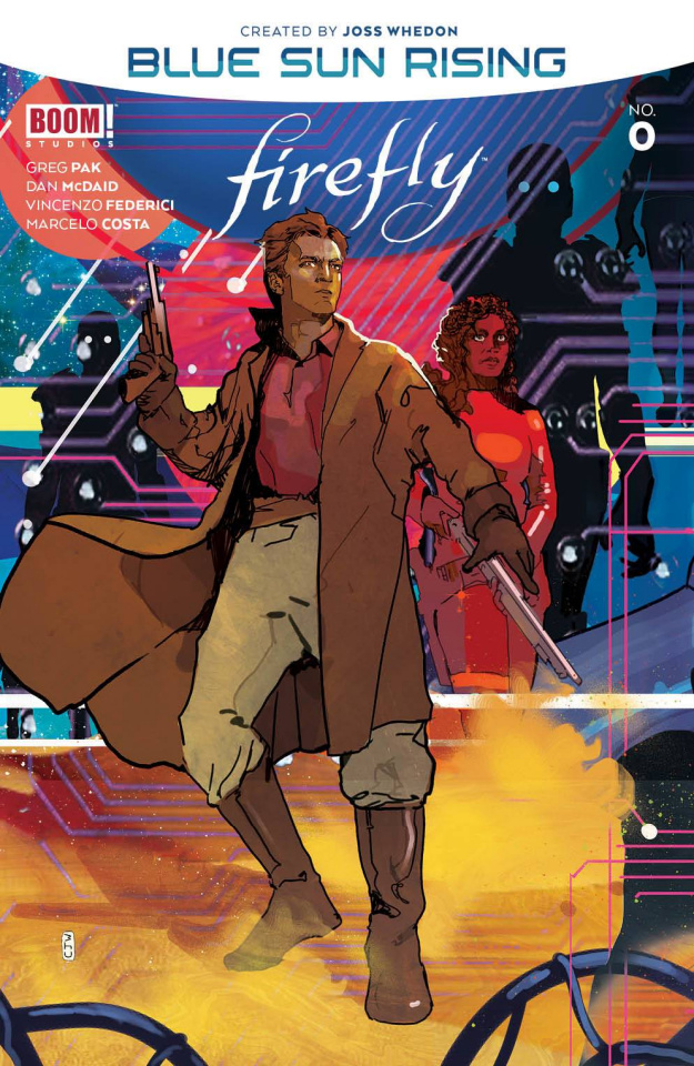 Firefly: Blue Sun Rising Alpha #0 (Ward Cover)