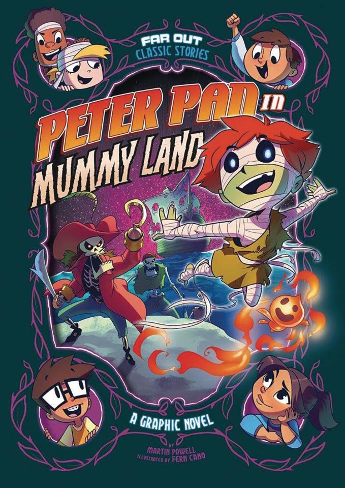 Peter Pan in Mummy Land