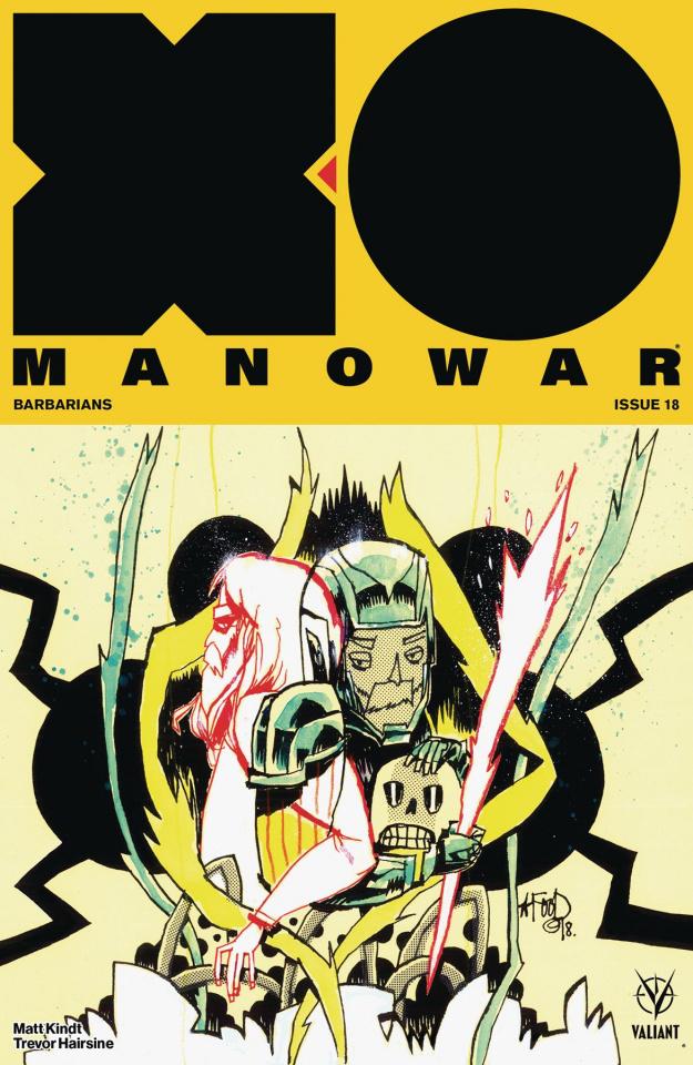 X-O Manowar #18 (Mahfood Cover)