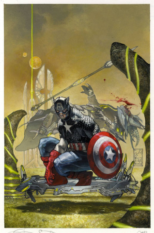 Captain America #4 (Bianchi Cover)