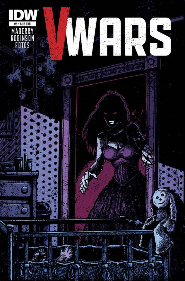 V-Wars #5 (Subscription Cover)