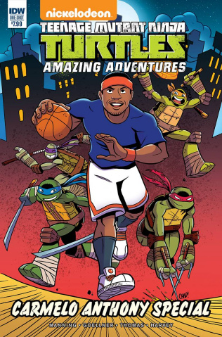 Teenage Mutant Ninja Turtles: Amazing Adventures Carmelo Anthony Special