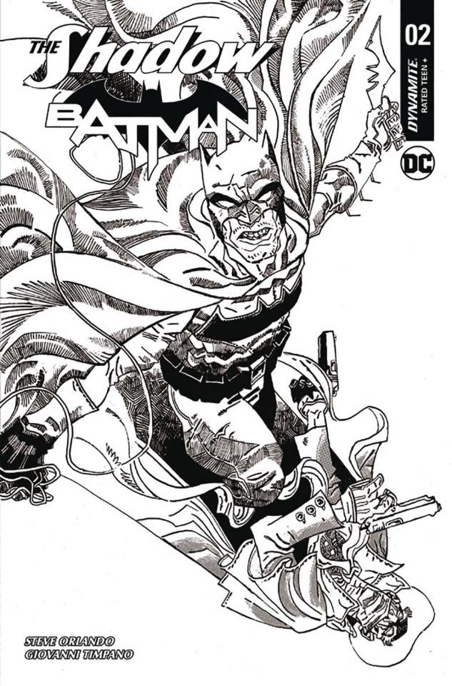 The Shadow / Batman #2 (30 Copy Trakhanov Vigin Cover)