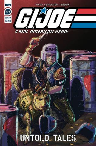 G.I. Joe: A Real American Hero #277 (Shearer Cover)