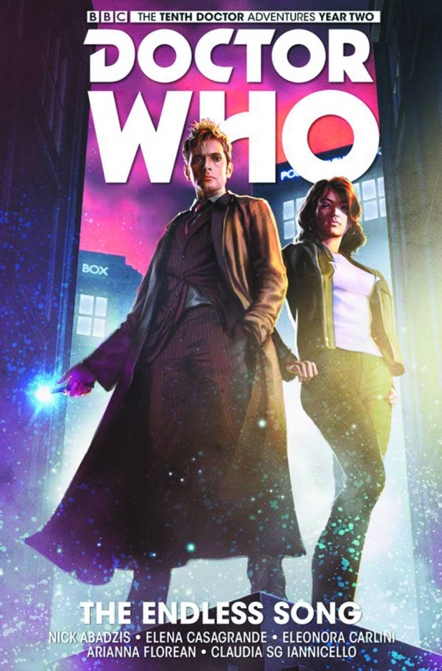 Doctor Who: New Adventures with the Tenth Doctor, Year Two Vol. 4: The Endless Song