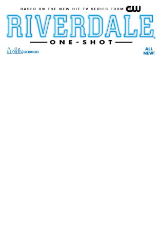 Riverdale #1 (Blank Sketch Cover)