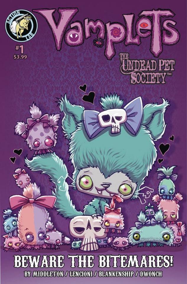 Vamplets: Beware the Bitmares! (Coronado Cover)
