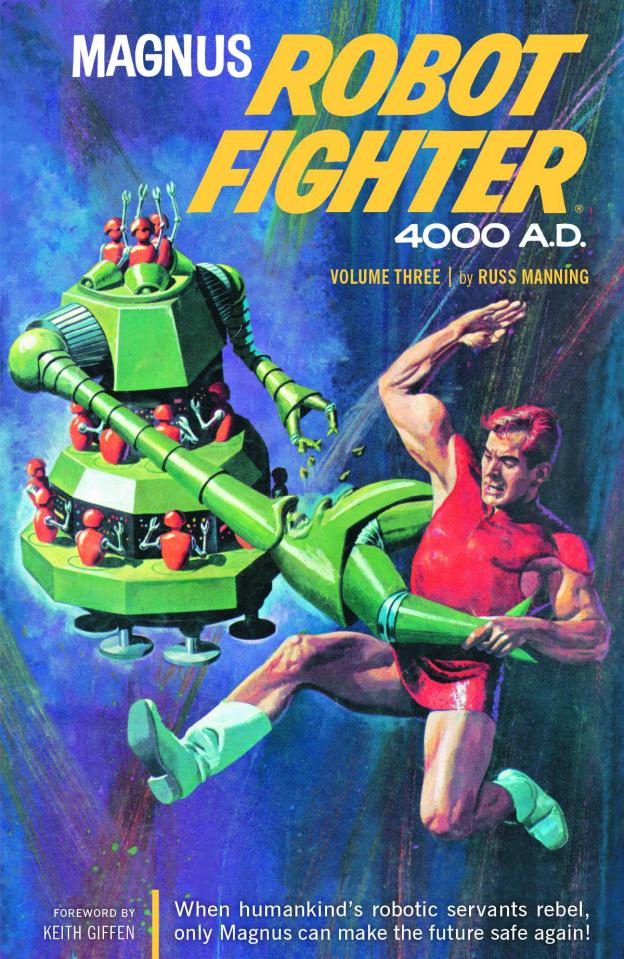 Magnus, Robot Fighter Archives Vol. 3