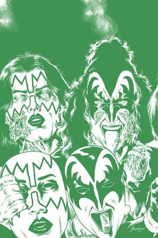 KISS: Zombies #4 (21 Copy Buchemi Tint Virgin Cover)