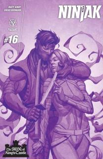 Ninjak #16 (Choi Cover)