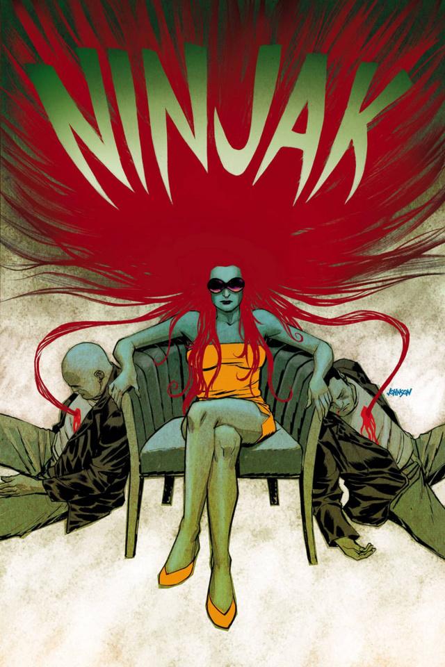 Ninjak #4 (Johnson Cover)