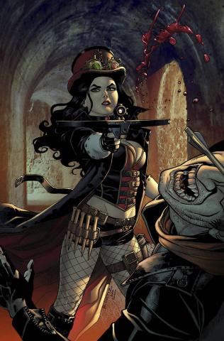 Grimm Fairy Tales: Van Helsing vs. Dracula #2 (Ortiz Cover)