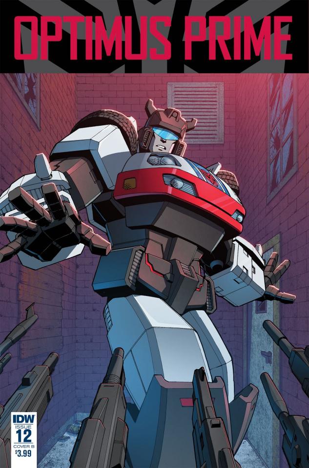 Optimus Prime #12 (Zama Cover)