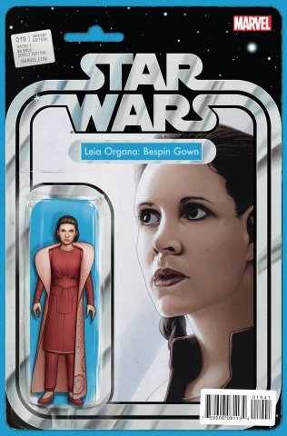 Star Wars #19 (Christopher Action Figure Cover)