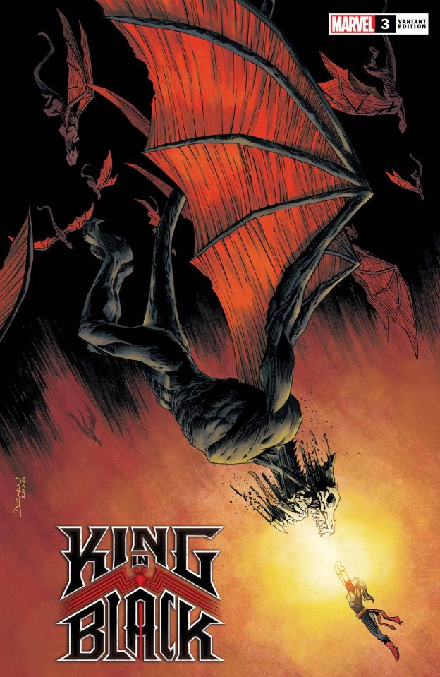 King in Black #3 (Shalvey Dragon Cover)