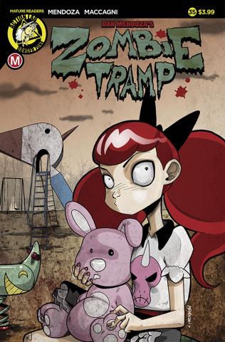 Zombie Tramp #35 (Mendoza Cover)