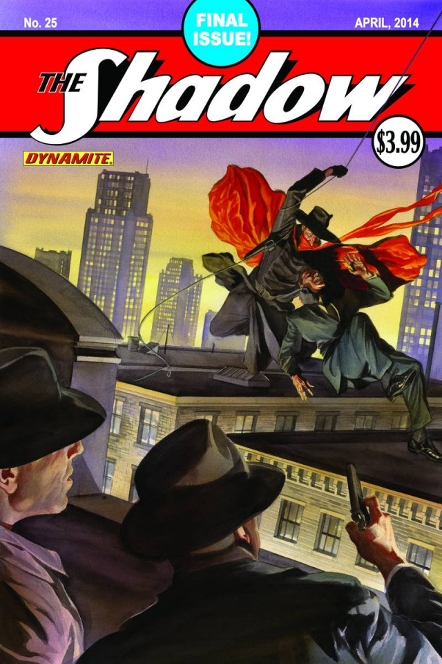 The Shadow #25 (Ross Cover)