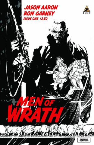 Men of Wrath #1 (2nd Printing)