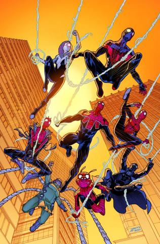 Spider-Geddon #1 (Garron Cover)
