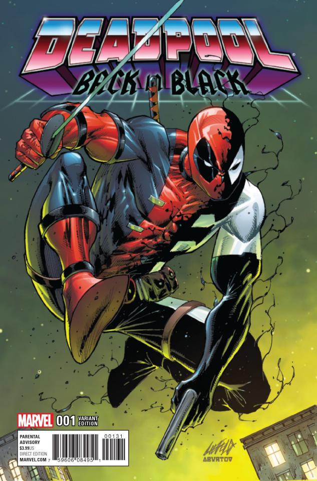 Deadpool: Back in Black #1 (Liefeild Cover)
