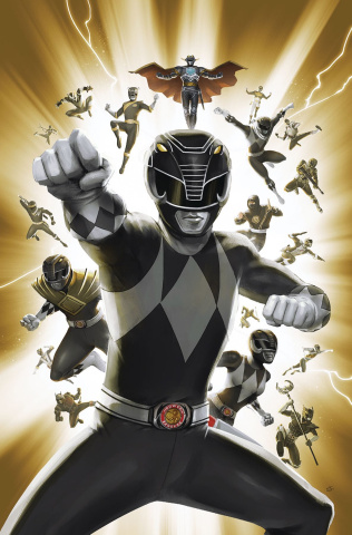 Mighty Morphin' Power Rangers #30 (25 Copy Lafuente Cover)