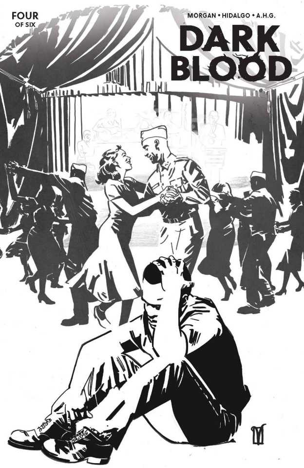 Dark Blood #4 (10 Copy De Landro Cover)