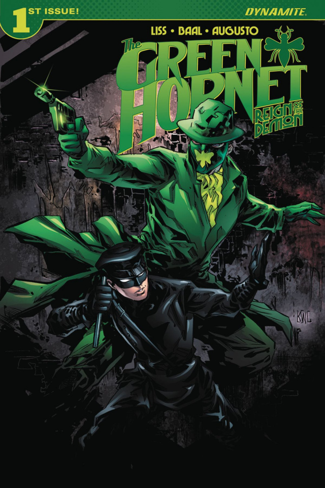 The Green Hornet: Reign of the Demon #1 (Lashley Cover)
