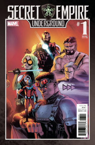 Secret Empire: Underground #1 (Albuquerque Cover)