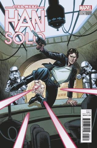 Star Wars: Han Solo #5 (Stewart Cover)