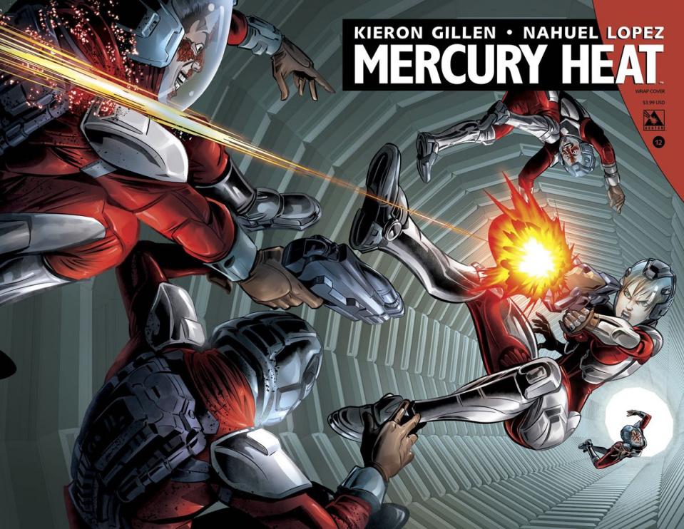 Mercury Heat #12 (Wrap Cover)