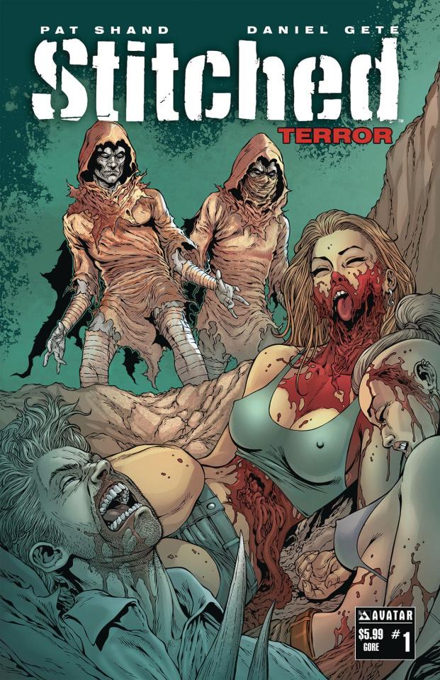 Stitched: Terror #1 (Gore Cover)