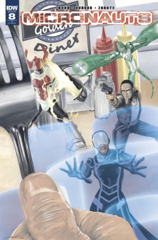 Micronauts #8 (10 Copy Cover)