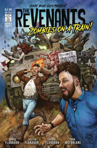 The Revenants: Zombies on a Train! (Fabry Cover)