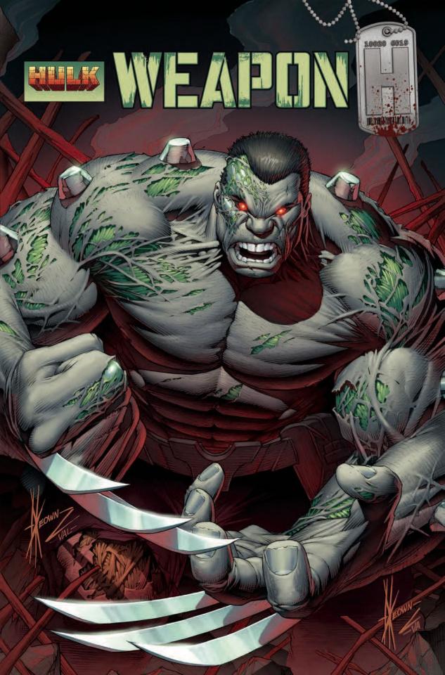 Weapon H #1 (Keown Hulk Homage Cover)