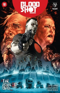 Bloodshot: Reborn #10 (Larosa Cover)