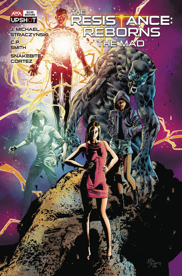 The Resistance: Reborns #1 (Deodato Jr Cover)