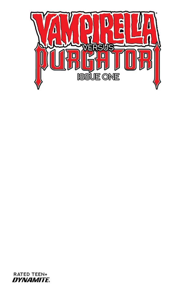 Vampirella vs. Purgatori #1 (Blank Authentix Cover)