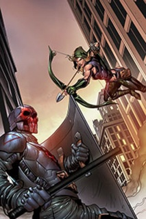Grimm Fairy Tales: Robyn Hood - I Love NY #9 (Rosete Cover)
