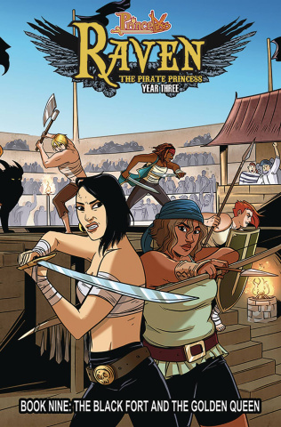 Princeless: Raven, The Pirate Princess Vol. 9: The Black Fort and the Golden Queen